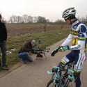 Mini-helicopter volgt Wout Poels voor RETOUR